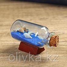 """Сувенир в бутылке """"Ракушки"""" 6*2,5*3,5см, микс"""