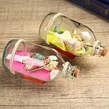 """Сувенир в бутылке """"Ракушки"""" 14*7*9см , микс, фото 2"""