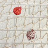 Сетка с ракушками и буйками, 110*150 см, белая, фото 2