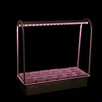 Светильник светодиодный для растений Uniel «Минисад», с подставкой, для фотос-за, 12 кашпо
