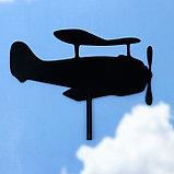 """Флюгер """"Самолет-2"""",  50х34см, фото 2"""