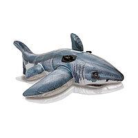 Надувная игрушка Intex 57525NP в форме акулы для плавания