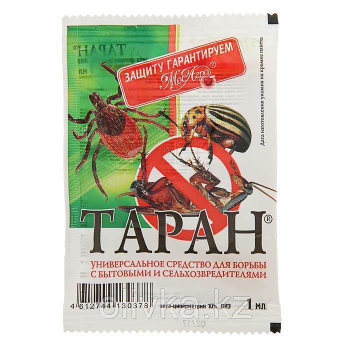 Средство от тараканов, клопов, блох Таран, ампула 1 мл
