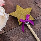 Декоративный штекер «Звезда», 7 × 14 см, фото 2