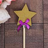 Декоративный штекер «Звезда», 7 × 14 см, фото 4