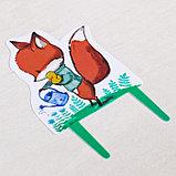 Штекер для горшков «Лисичка», фото 4