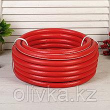 """Шланг, ТЭП, d = 12 мм (1/2""""), L = 15 м, морозостойкий (до –30 °C), COLOR, красный"""