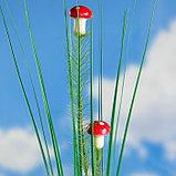 """Штекер садовый, декоративный """"Грибочки"""" 2х2см, 75см, фото 2"""