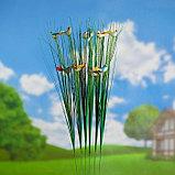 """Штекер садовый, декоративный """"Птички"""" 4х2см, 75см, фото 3"""