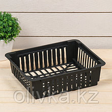 Корзина для луковичных, квадратная, 24,5 × 20,5 × 7 см, МИКС