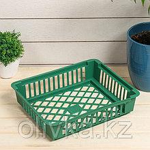 Корзина для луковичных, квадратная, 25 × 30 см, цвет МИКС