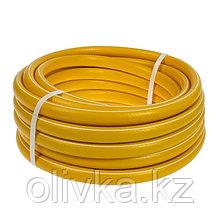 """Шланг, ТЭП, d = 19 мм (3/4""""), L = 15 м, морозостойкий (до –30 °C), COLOR, жёлтый"""
