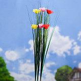 """Штекер садовый, декоративный """"Розы"""" 3х3см, 75см, фото 2"""