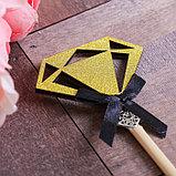 Декоративный штекер «Алмаз», 7 × 14 см, фото 2