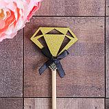 Декоративный штекер «Алмаз», 7 × 14 см, фото 3