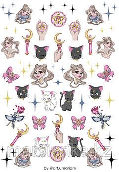 "Слайдер дизайн Moonshine Nails ""Sailor Moon"""