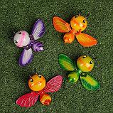 """Декор садовый """"Улыбающаяся пчёлка"""" штекер 40 см, микс, фото 7"""