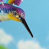 """Декоративный штекер """"Колибри с поднятыми крыльями"""" микс, фото 2"""