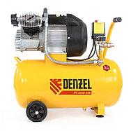 Компрессор пневматический (2,2 кВт, 350 л/мин, 50 л Denzel)