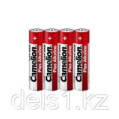 Батарейка, CAMELION, LR03-SP4, Plus Alkaline, AAA, 1.5V, 1150 mAh, 4 шт в плёнке