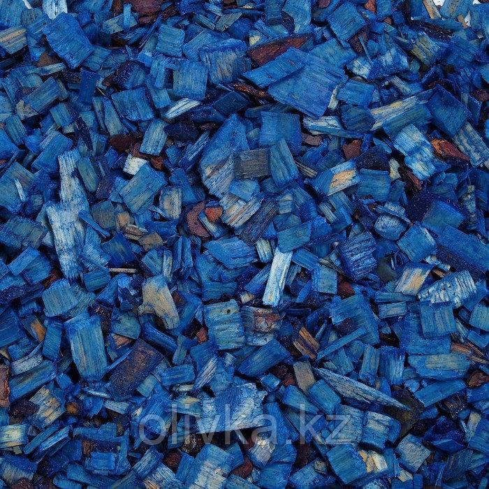 Щепа декоративная, синяя 20л.