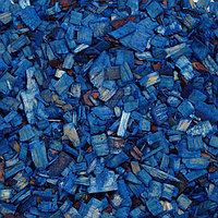 Щепа декоративная, синяя 60л.