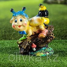 """Садовая фигура """"Пчелка"""", разноцветный, 22 см, микс"""