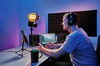 MACKIE Creator Bundle комплект для подкастов (микрофон EM-USB, мониторы CR3-X, наушники MC-100)