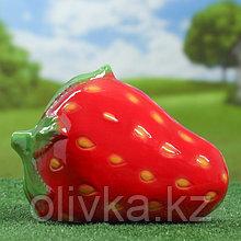 """Садовая фигура """"Клубника"""", красный цвет, 26 см х 19 см х 19 см"""