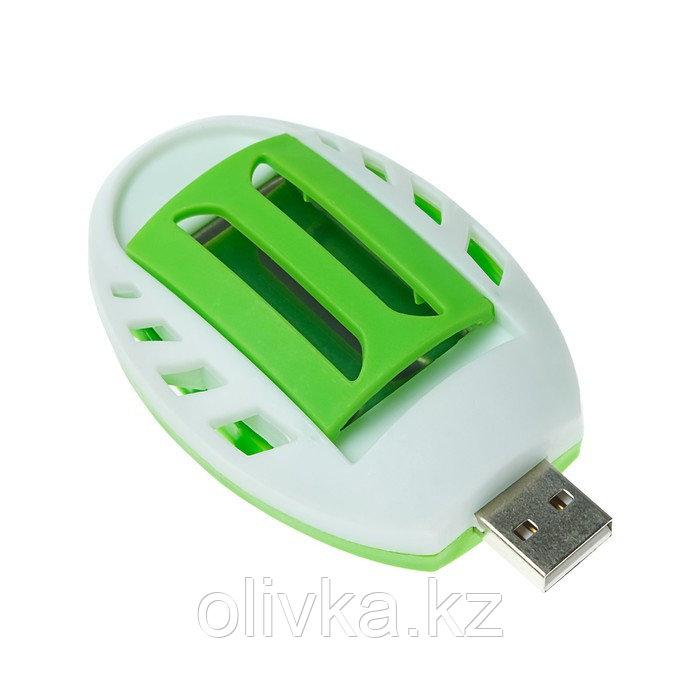 Фумигатор LuazON LRI-10, работает от USB, бело-зеленый