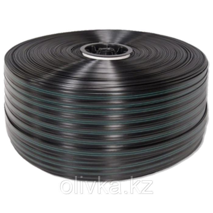Капельная лента щелевая, d-16мм, толщ-0,2мм, шаг-100мм, расход-1,2л/ч, L-500м