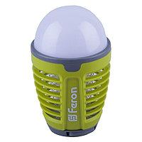 Светильник светодиодный TL850, 5Вт, USB, 4000К, цвет зелёный, антимоскитная сетка 1000В