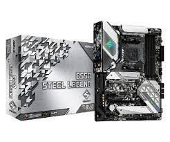 Материнская плата ASRock B550 STEEL LEGEND AM4 4xDDR4 6xSATA3 2xM.2 HDMI DP ATX