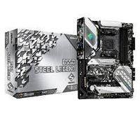 Материнская плата ASRock B550 STEEL LEGEND AM4 4xDDR4 6xSATA3 2xM.2 HDMI DP ATX, фото 1