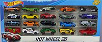 Набор 20 машинок Hot Wheel 20