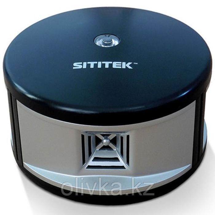 Отпугиватель грызунов SITITEK 360, универсальный, ультразвуковой, до 500 м2, от сети, чёрный