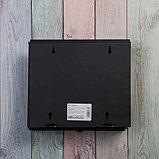 Ящик почтовый без замка (с петлёй), горизонтальный «Письмо», чёрный, фото 5