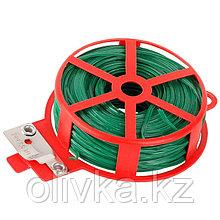 """Проволока подвязочная для кустарников, 50 м, зелёная, """"Grinda"""""""