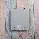 Ящик почтовый без замка (с петлёй), вертикальный, «Почта», серый, фото 5