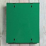 Ящик почтовый «Почта», вертикальный, с замком-щеколдой, зелёный, фото 5