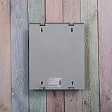 Ящик почтовый с замком, вертикальный, «Почта», серый, фото 5