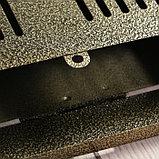 Ящик почтовый без замка (с петлёй), вертикальный, бронзовый, фото 4