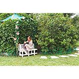Арка садовая, разборная, 250 × 120 × 30 см, металл, зелёная, «Узор-1», фото 4
