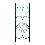 Арка садовая, разборная, 240 × 120 × 36 см, разборная, меатлл, зелёная, фото 2
