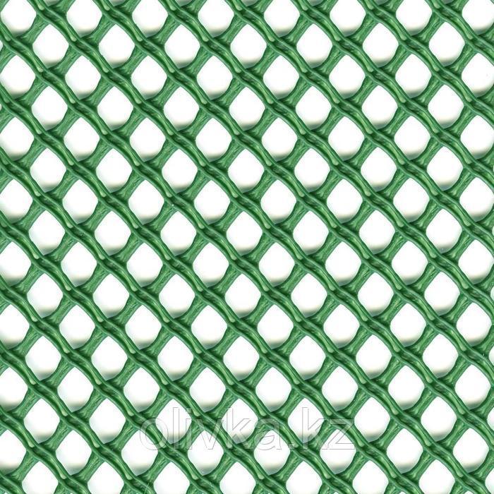 Сетка садовая, 1 × 5 м, ячейка 1,3 × 1,5 см, пластик, зелёная, AIRY