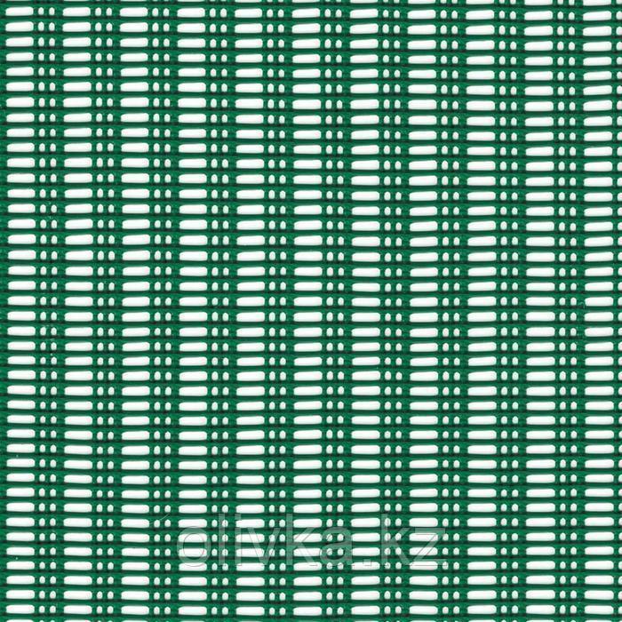 Сетка садовая, 1 × 5 м, ячейка 1,1 × 0,3 см, пластик, зелёная, MISTRAL