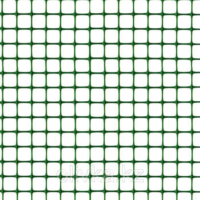 Сетка садовая, 1 × 10 м, ячейка 3 × 4,5 см, пластик, RANCH 1