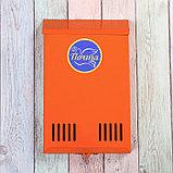 Ящик почтовый без замка (с петлёй), вертикальный, оранжевый, фото 2