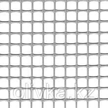 Сетка садовая, 1 × 10 м, ячейка 1 × 1 см, пластик, серебристая, Quadra 10