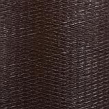 Лента бордюрная, 0.1 × 10 м, толщина 1.2 мм, пластиковая, коричневая, Greengo, фото 3
